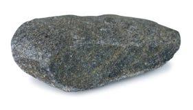 Pietra della roccia isolata su fondo bianco con il percorso di ritaglio fotografie stock libere da diritti