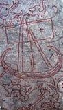Pietra della runa Immagine Stock