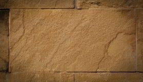 Pietra della sabbia della parete Immagini Stock