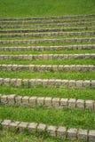 pietra della scaletta Fotografia Stock