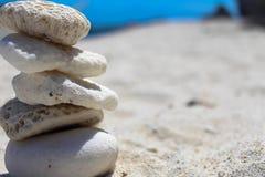 Pietra della spiaggia Immagini Stock