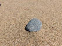 Pietra della spiaggia del granito Fotografie Stock Libere da Diritti