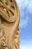 Pietra della statua di Buddist Immagine Stock