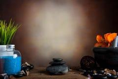 Pietra della stazione termale Fotografie Stock