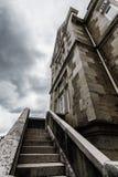 Pietra delle scale Fotografie Stock Libere da Diritti