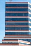Pietra di Brown e costruzione di vetro a Halifax Fotografie Stock Libere da Diritti