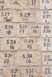 Pietra di Gerusalemme Fotografie Stock