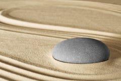 Pietra di massaggio di benessere della stazione termale Fotografie Stock