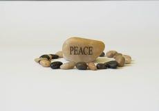 Pietra di pace Immagine Stock