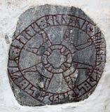Pietra di Rune Immagini Stock