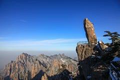 Pietra di volo della montagna gialla dalla Cina immagine stock libera da diritti