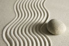 Pietra di zen immagini stock