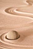 Pietra di zen del fondo di meditazione Fotografie Stock