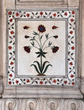 A Pietra Dura Marble Panel Red Fort Delhi Royalty Free Stock Photography