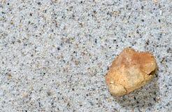 Pietra e sabbia Fotografia Stock Libera da Diritti