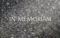 Pietra grave di marmo Fotografia Stock Libera da Diritti