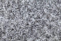 Pietra grigia del granito Immagini Stock Libere da Diritti