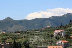 Pietra Ligure, Italia, año 2009 imagen de archivo