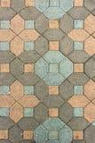 Pietra per lastricati del vecchio patio Fotografia Stock Libera da Diritti