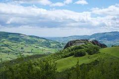 Pietra Perduca in Val Trebbia, Piacenza, Italy Stock Photo