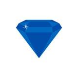 Pietra preziosa del diamante Immagine Stock