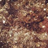 Pietra preziosa dell'oro Fotografia Stock