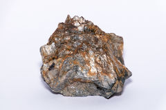 Pietra preziosa minerale del gioiello della gemma della pietra preziosa di Muskovit Fotografie Stock Libere da Diritti