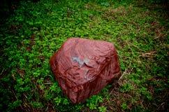 Pietra rossa Fotografia Stock