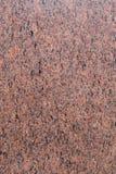Pietra rossa del granito immagine stock