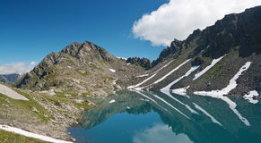 Pietra Rossa Lake, Italian Alps Royalty Free Stock Image