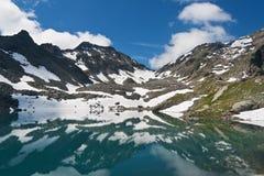 Pietra Rossa Lake, Italy Royalty Free Stock Image