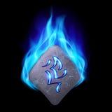 pietra runic illustrazione vettoriale