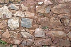 pietra rurale della parete fotografia stock