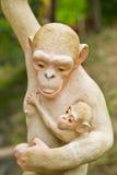Pietra sacra della scimmia Fotografia Stock Libera da Diritti