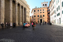Pietra square in Rome Royalty Free Stock Photography