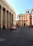 Pietra square in Rome Stock Photos