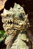 Pietra tailandese del leone fotografia stock