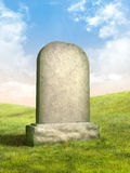 Pietra tombale illustrazione di stock