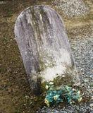 Pietra tombale Fotografia Stock