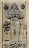 Pietra tombale nella chiesa Fotografia Stock Libera da Diritti