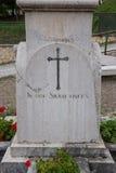 Pietra tombale in Scanno immagine stock libera da diritti