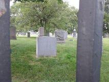 Pietra tombale vuota fotografia stock libera da diritti