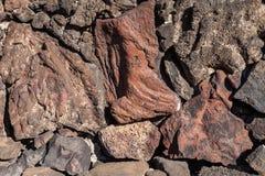 Pietra vulcanica Fotografia Stock Libera da Diritti