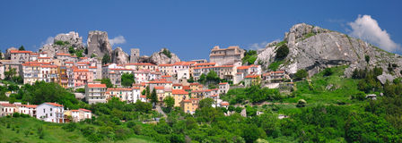 Pietrabbondante, molise Stock Photos