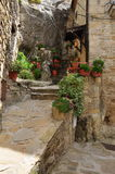 Pietrapertosa, Basilicata, Italy. The old village traditional architecture. Royalty Free Stock Photo