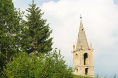 Pietraporzio (Cuneo, Italy) Royalty Free Stock Photos