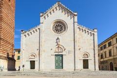 Pietrasanta cathedral Stock Images