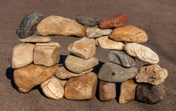 pietre Fotografie Stock Libere da Diritti