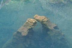 Pietre in acqua libera Immagine Stock