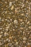 Pietre alla parte inferiore del fiume Fotografie Stock Libere da Diritti